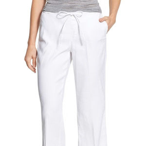NYDJ JAMIE Relaxed Ankle Flared Pants E8